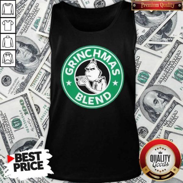 Grinchmas Drink Coffee Blend Tank Top - Design By Waretees.com