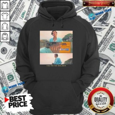 Harry Styles You're Golden Hoodie- Design by Waretees.com