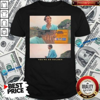Harry Styles You're Golden Shirt- Design by Waretees.com