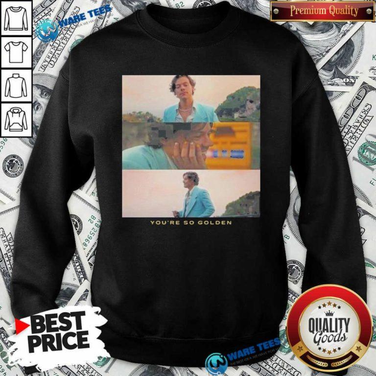 Harry Styles You're Golden Sweatshirt- Design by Waretees.com