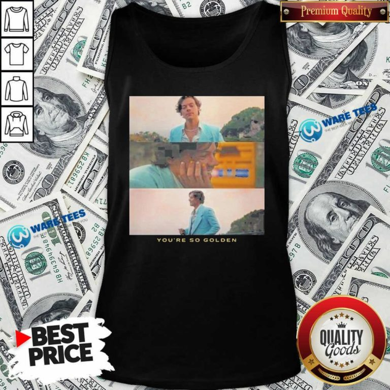Harry Styles You're Golden Tank-Top- Design by Waretees.com