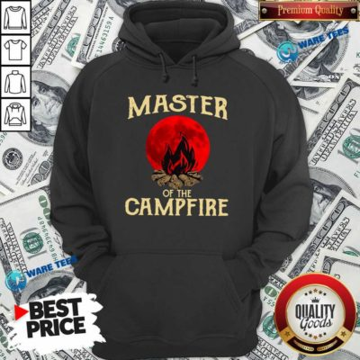 Master Of The Campfire Hoodie- Design by Waretees.com