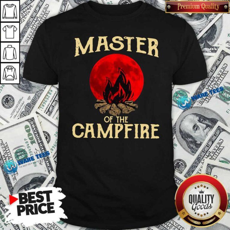 Master Of The Campfire Shirt- Design by Waretees.com