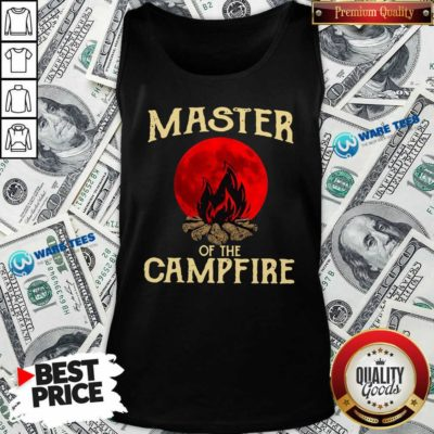 Master Of The Campfire Tank-Top- Design by Waretees.com