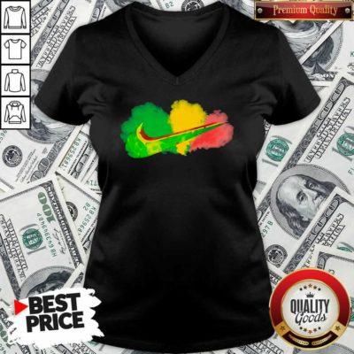 Roots Rock Reggae V-neck - Design By Waretees.com