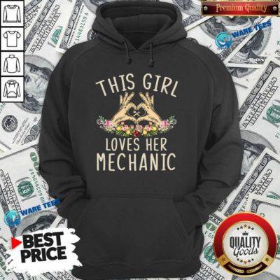 This Girl Loves Her Mechanic Vintage Hoodie- Design by Waretees.com