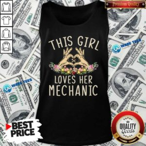 This Girl Loves Her Mechanic Vintage Tank-Top- Design by Waretees.com