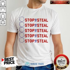 Official Trump Stop The Steal Shirt - Design by Waretees.com