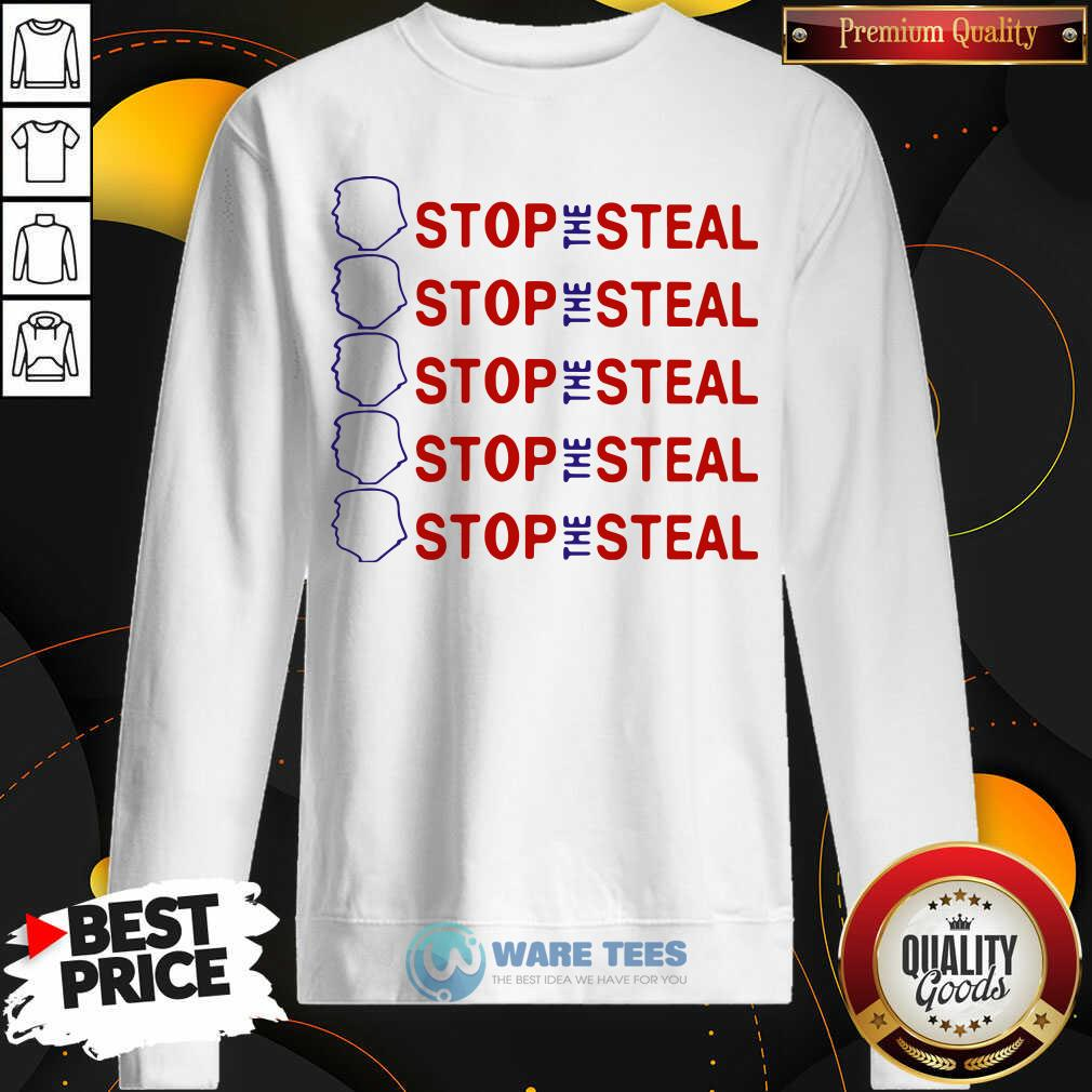 Official Trump Stop The Steal Sweatshirt - Design by Waretees.com