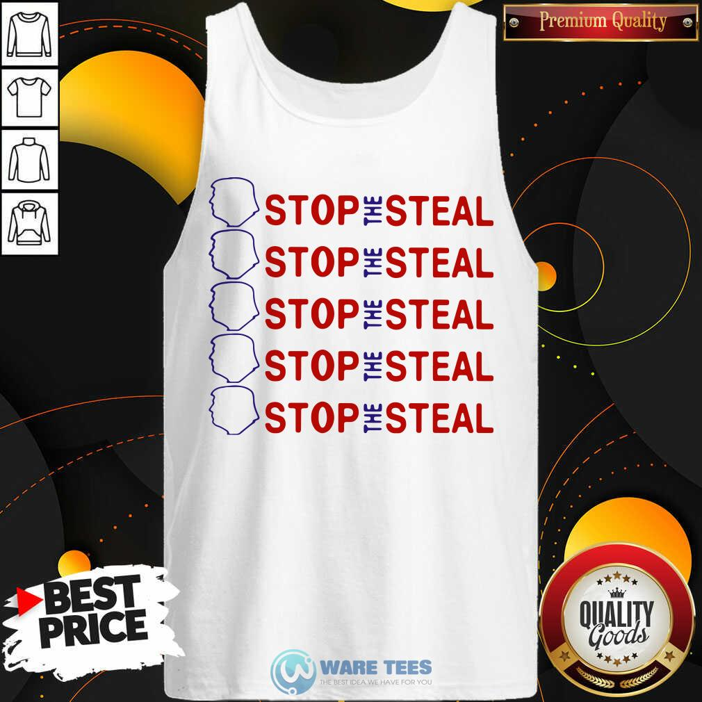 Official Trump Stop The Steal Tank Top - Design by Waretees.com