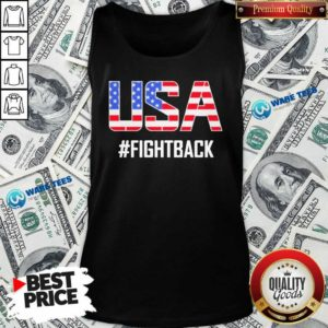 Official USA #fightback American Tank Top - Design by Waretees.com