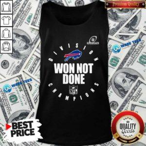 Buffalo Bills Champions 2020 Won Not Done Tank-Top- Design by Waretees.com
