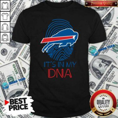 Buffalo Bills Mafia It's In My DNA Shirt- Design by Waretees.com