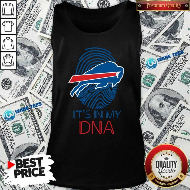 Buffalo Bills Mafia It's In My DNA Tank-Top- Design by Waretees.com