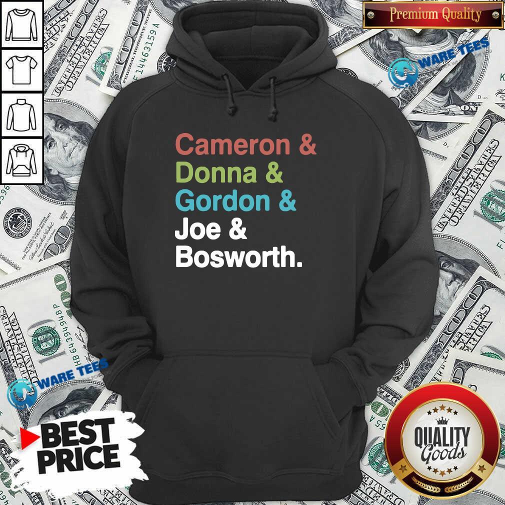 Halt And Catch Fire Cast Names Cameron Joe Donna Gordon Graphic Hoodie- Design By Waretees.com