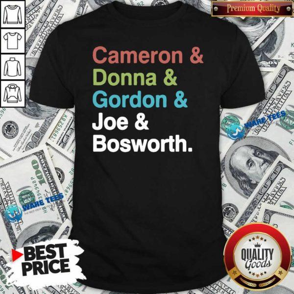 Halt And Catch Fire Cast Names Cameron Joe Donna Gordon Graphic Shirt- Design By Waretees.com