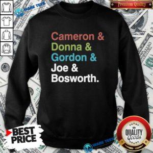 Halt And Catch Fire Cast Names Cameron Joe Donna Gordon Graphic Sweatshirt- Design By Waretees.com