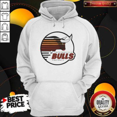 Original Jacksonville Bulls Football Hoodie- Design by Waretees.com