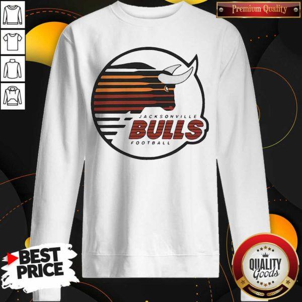 Original Jacksonville Bulls Football Sweatshirt- Design by Waretees.com