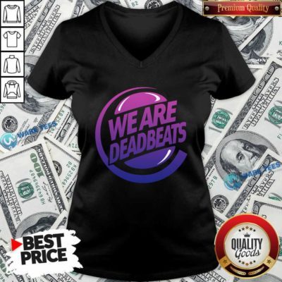 Kt8 Merch Zeds Dead Deadbeats Beyond Beats V-neck- Design by Waretees.com