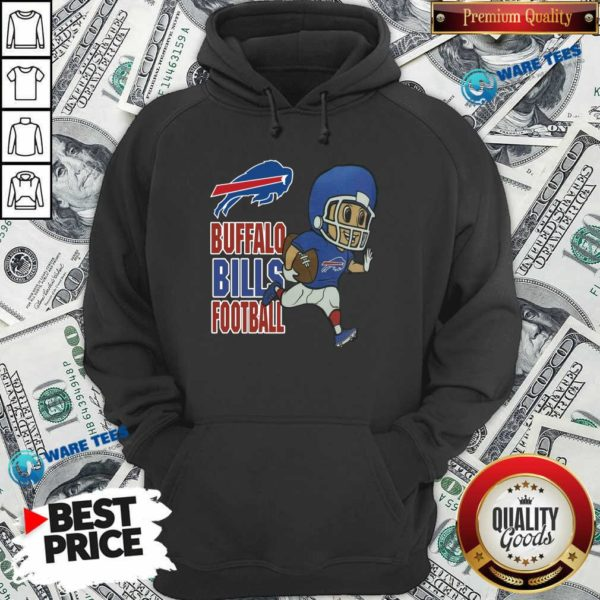 Buffalo Bills Football Hoodie- Design by Waretees.com