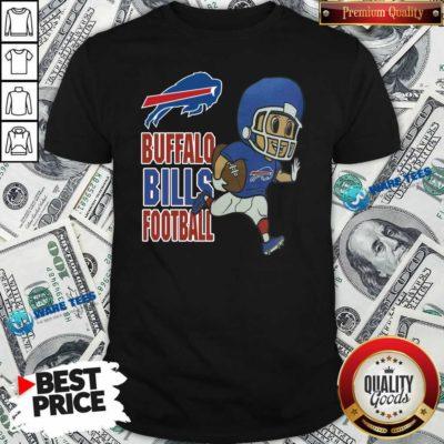 Buffalo Bills Football Shirt- Design by Waretees.com