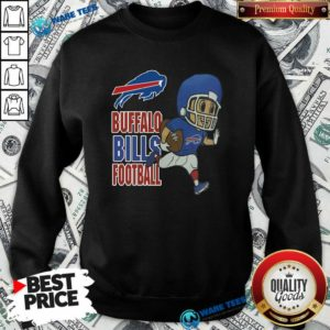 Buffalo Bills Football Sweatshirt- Design by Waretees.com