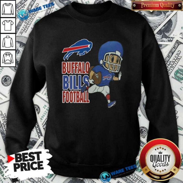 Buffalo Bills Football Sweatshirt- Design by Waretees.com