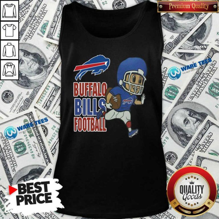 Buffalo Bills Football Tank-Top- Design by Waretees.com
