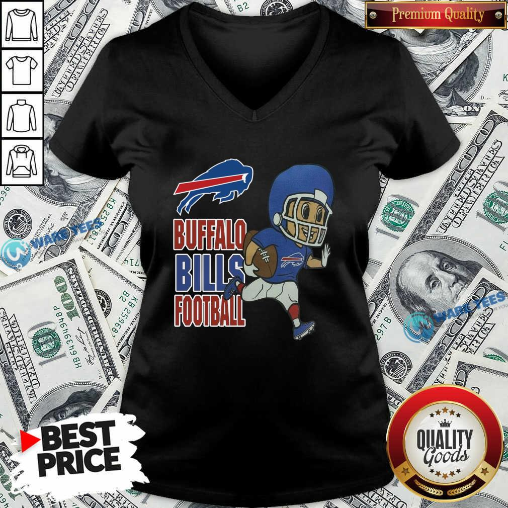 Buffalo Bills Football V-neck- Design by Waretees.com