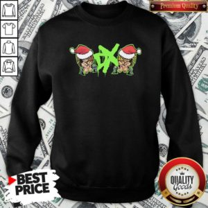 DX Team Dance Hat Santa Merry Christmas Sweatshirt - Design By Waretees.com