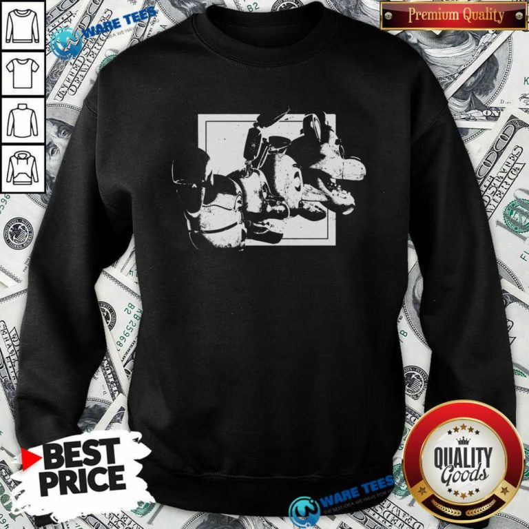 Fnaf Ar Merch Store Chromatic Sweatshirt- Design by Waretees.com