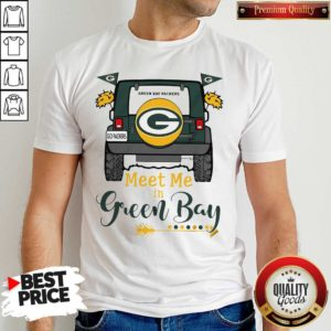Perfect Green Bay Packers Meet Me In Green Bay Shirt - Design by Waretees.com