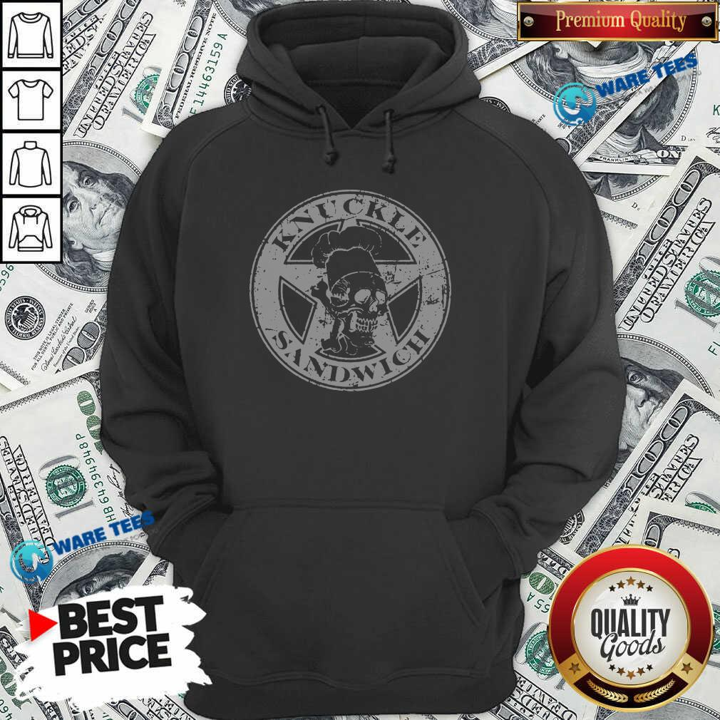 Guy Fieri Merch Knuckle Sandwich Hoodie- Design By Waretees.com