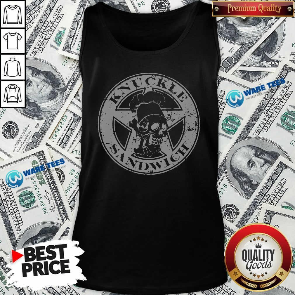Guy Fieri Merch Knuckle Sandwich Tank-Top- Design By Waretees.com
