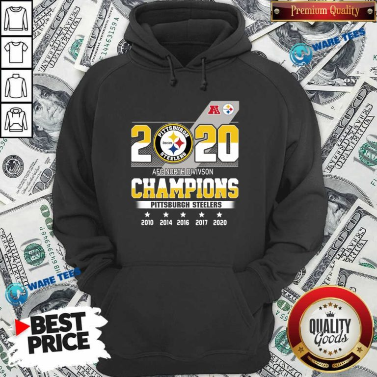 Pittsburgh Steelers Afc North Division Champions 2010 2020 Hoodie- Design By Waretees.com