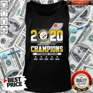 Pittsburgh Steelers Afc North Division Champions 2010 2020 Tank-Top Design By Waretees.com