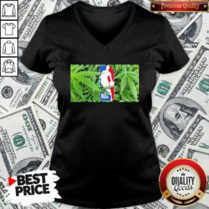 Cannabis NBA Champions 2020 V-neck - Design By Waretees.com