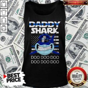 Daddy Shark Police Do Do Do Tank Top - Design By Waretees.com