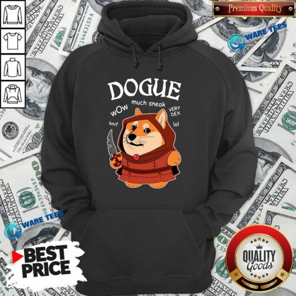 Dogue Wow Much Sneak Very Dex Knif Lol Corgi Hoodie- Design by Waretees.com