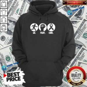 Go Fight Cure Breast Cancer Awareness Month Hoodie- Design By Waretees.com