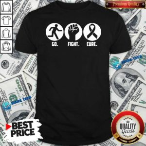 Go Fight Cure Breast Cancer Awareness Month Shirt- Design By Waretees.com