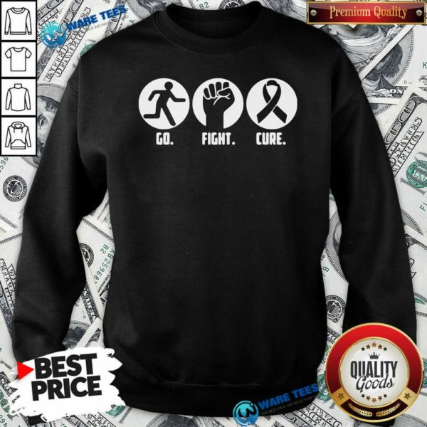 Go Fight Cure Breast Cancer Awareness Month Sweatshirt- Design By Waretees.com