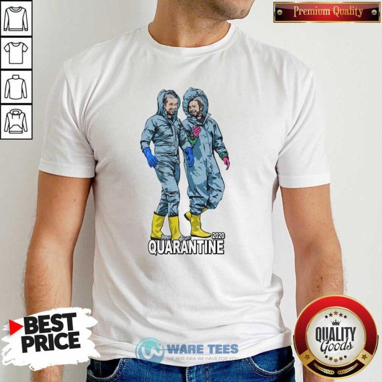 Healthcare 2020 Quarantine Shirt- Design by Waretees.com