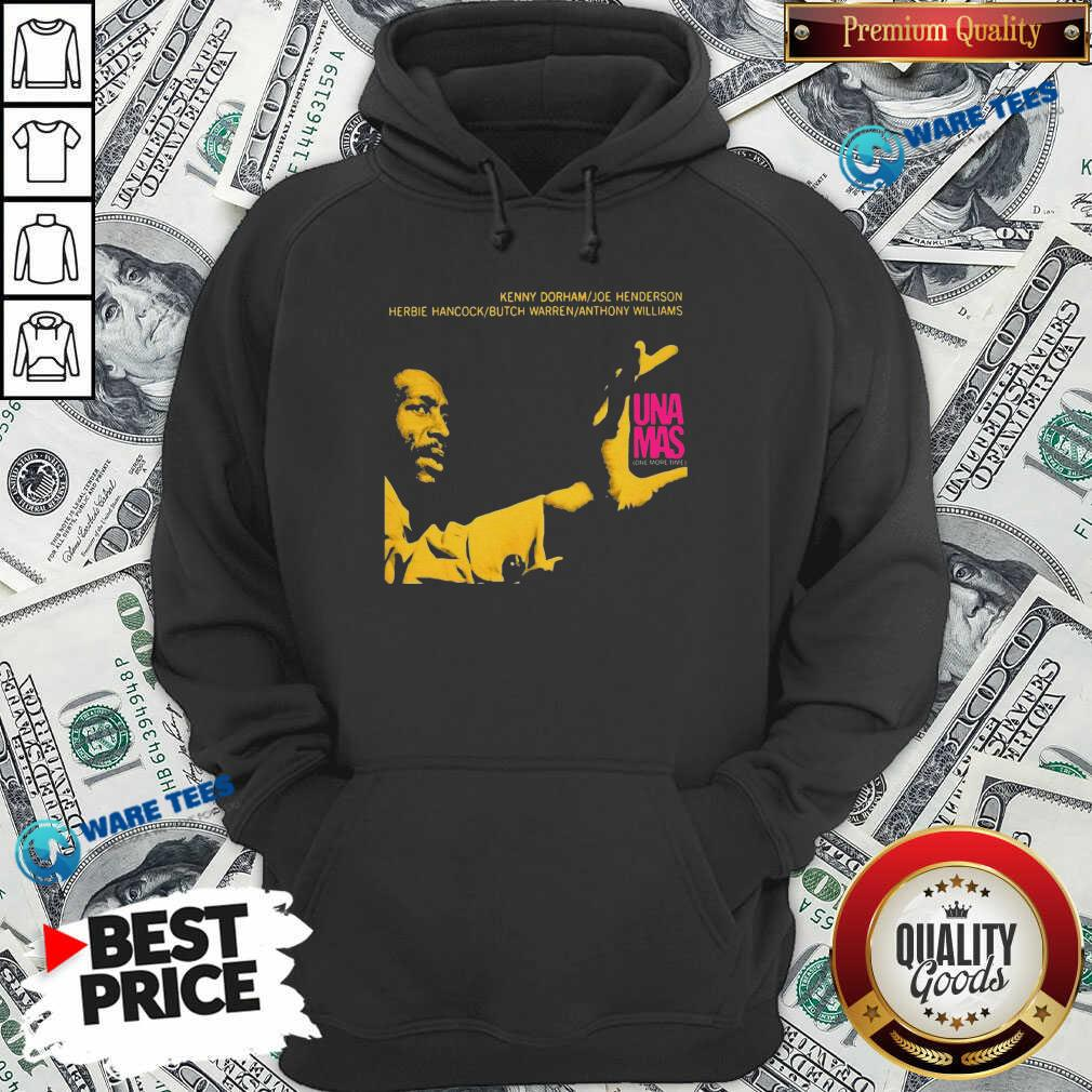 Jazz Album Cover Artwork Reproduction Kenny Dorham Trumpet Player Afro American Artist Band Hoodie- Design by Waretees.com