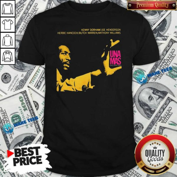 Jazz Album Cover Artwork Reproduction Kenny Dorham Trumpet Player Afro American Artist Band Shirt- Design by Waretees.com