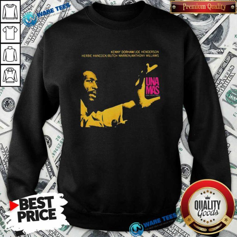 Jazz Album Cover Artwork Reproduction Kenny Dorham Trumpet Player Afro American Artist Band Sweatshirt- Design by Waretees.com
