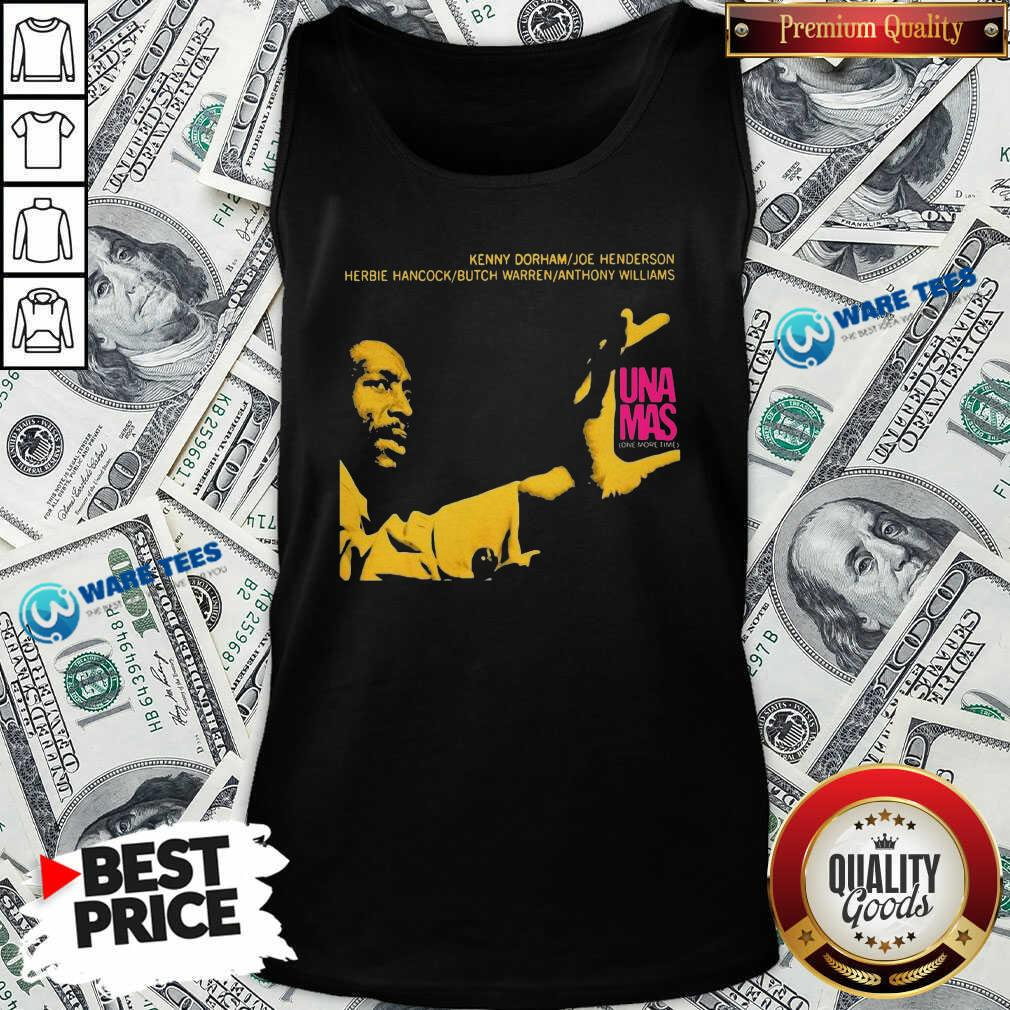 Jazz Album Cover Artwork Reproduction Kenny Dorham Trumpet Player Afro American Artist Band Tank-Top- Design by Waretees.com