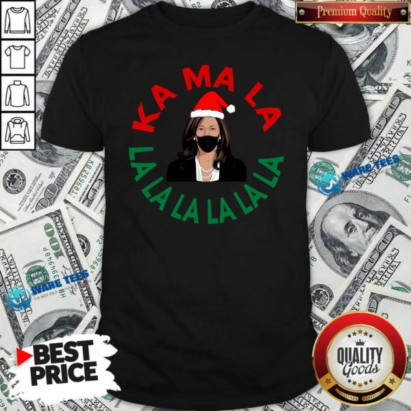 Kamala Momala Kamala Harris Mask Christmas Shirt- Design by Waretees.com