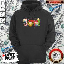 Premium Minions Joy Christmas Hoodie - Design by Waretees.com
